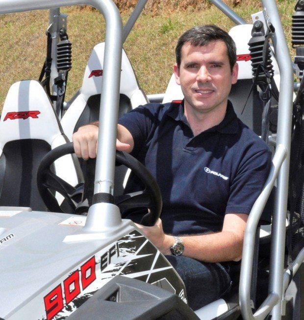 Rodrigo Lourenço, diretor geral da Polaris na América do Sul
