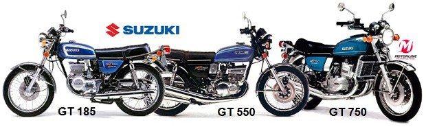 As importadas mais colecionáveis da Suzuki - década de 1970