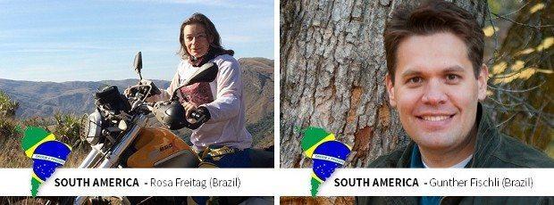 Ambos os representantes sulamericanos no são brasileiros