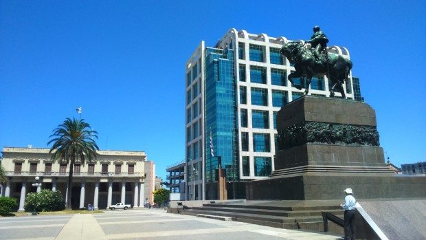 Palácio da presidência em José Artigas