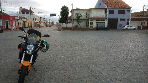 Chegando em São José do Norte (RS)