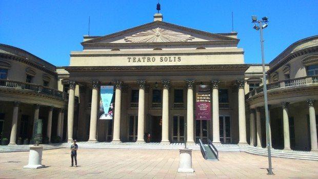 Teatro Solis em Montevidéu