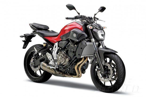 Yamaha MT 07, a moto escolhida por Paschoalin