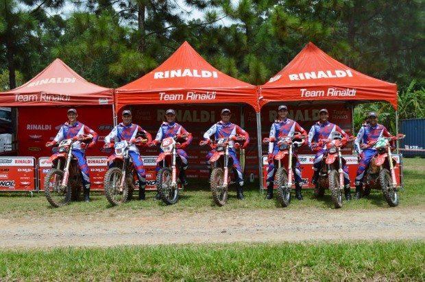 Zanol Team Rinaldi ASW Honda apresenta formação 2016 - foto:  Tiago Show Radical