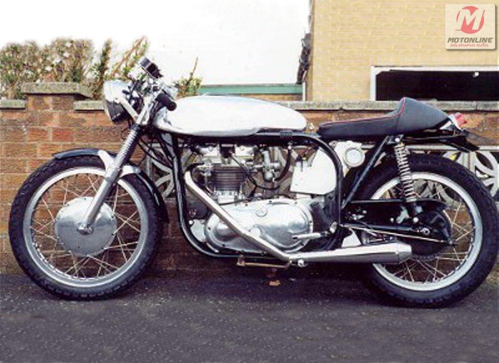 Triton - São as que levam motor Triumph em chassi Norton