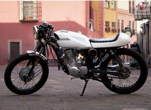 Honda cg 125 Café com leite