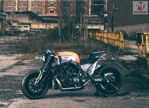 Yamaha V-Max A infrared