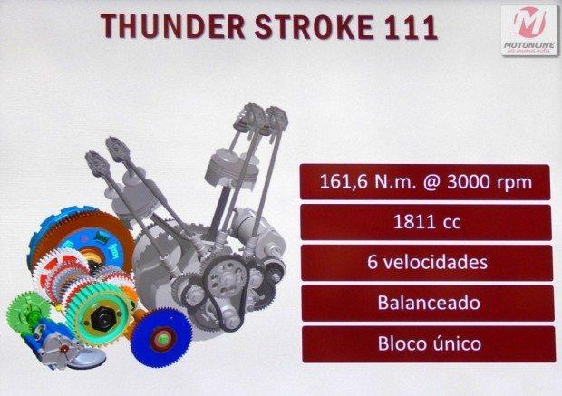 motor com características importantes para uma estradeira