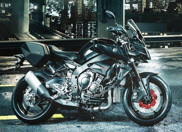 Yamaha MT-10 equipada para os aventureiros: tudo e mais um pouco