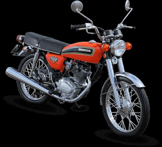 Esta é a primeira.... nacional da Honda, a famosa CG Bolinha