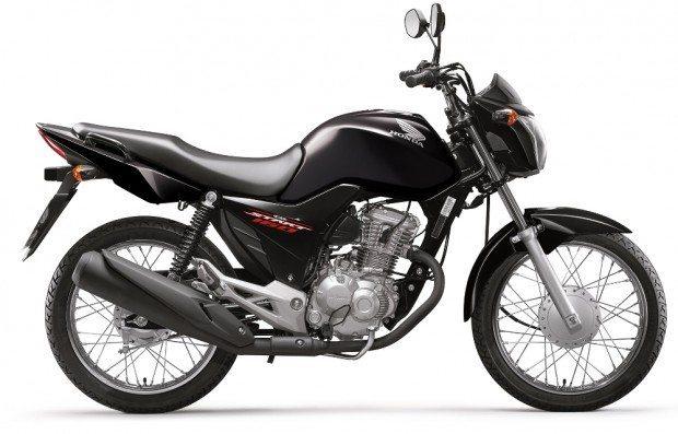 A Honda CG 160 Start 2016 será oferecida apenas nas cores preta e ...