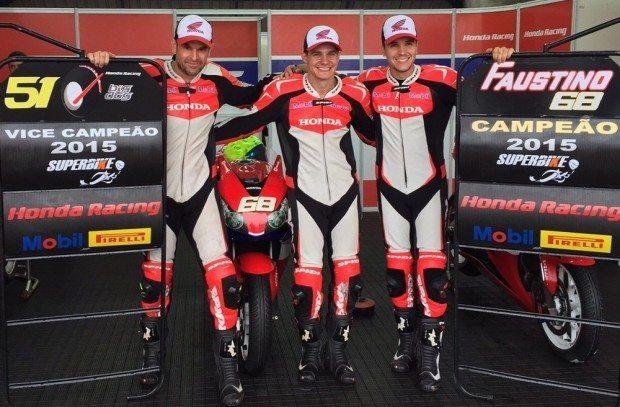 Equipe Honda Mobil disputará a segunda etapa da Copa Pirelli Superbike de Motovelocidade - divulgação