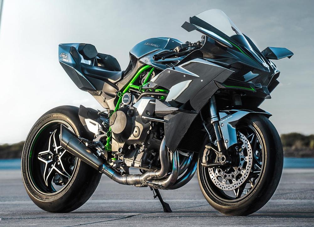 A superesportiva Ninja H2R 2017 será o destaque na O2BH Kawasaki  - divulgação