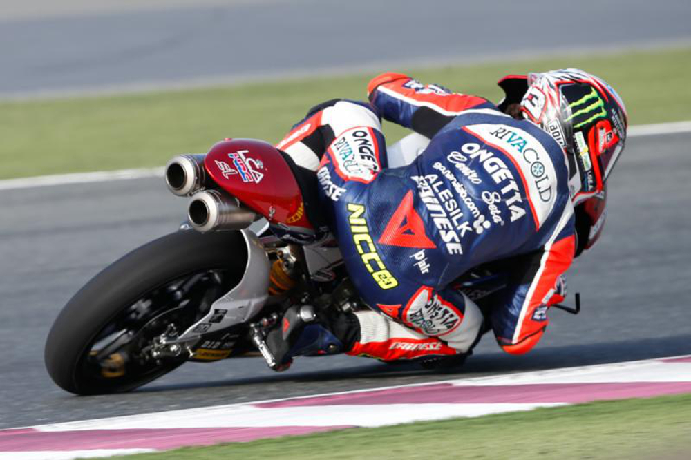 Niccolò Antonelli vence a corrida de Moto3™ no Qatar