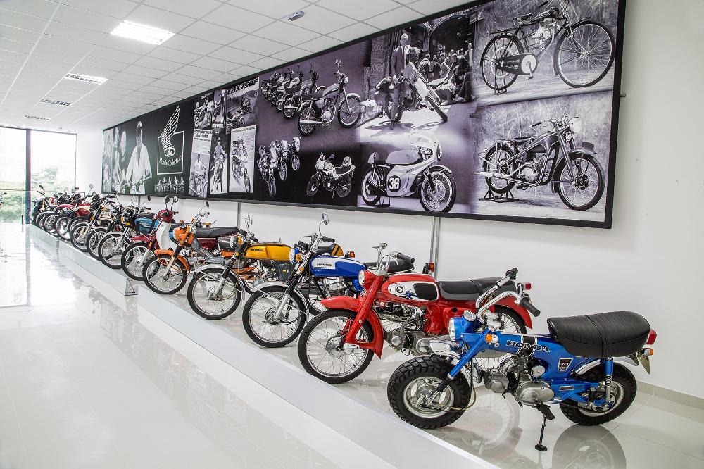 Concessionária Honda em SP conta com museu permanente de clássicas da marca - divulgação
