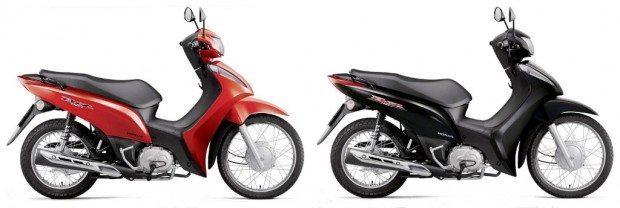 Vermelha ou preta: para uma moto que  tem o público feminino como principal interessado, algumas opções a mais seriam bem vindas