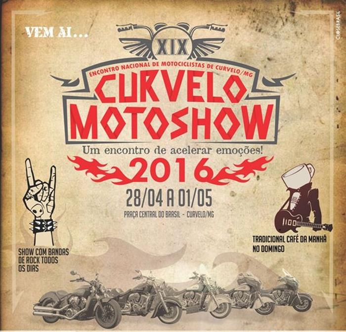 Evento é promovido pelo Zangões Brasil Moto Clube, nesta semana