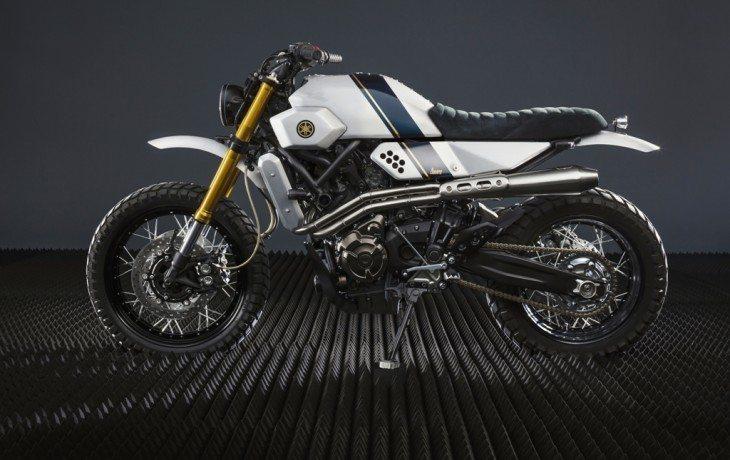 Uma XSR 700 vem da Turquia dentro do projeto Yamaha Yard Built
