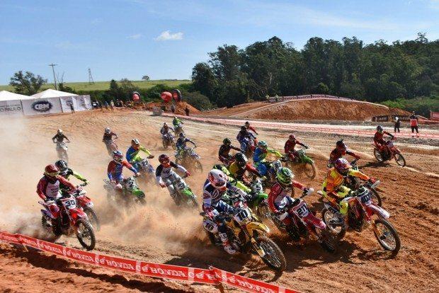Categoria MX1, a principal do Brasileiro, foi marcada por pegas