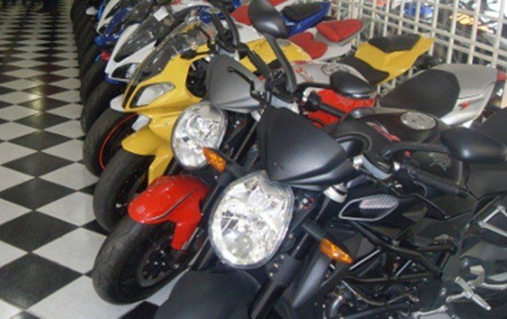 A divisão das motos