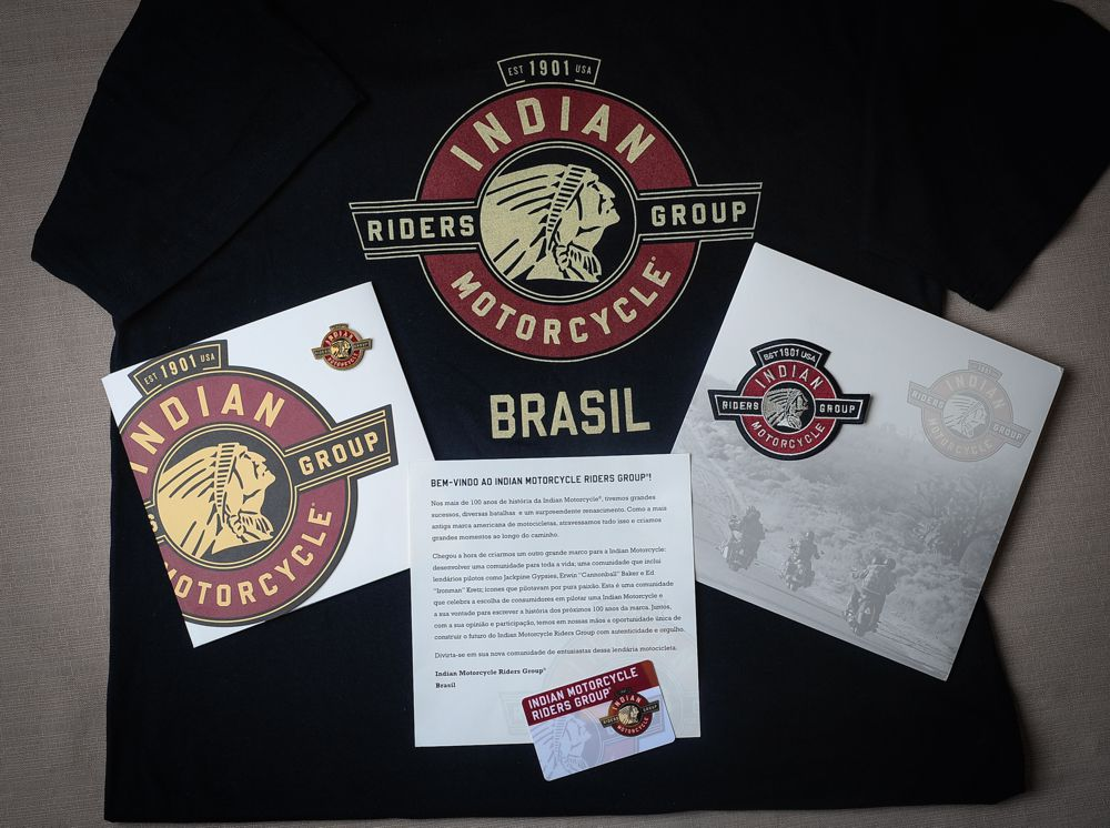 Kit IMRG para associado no Brasil