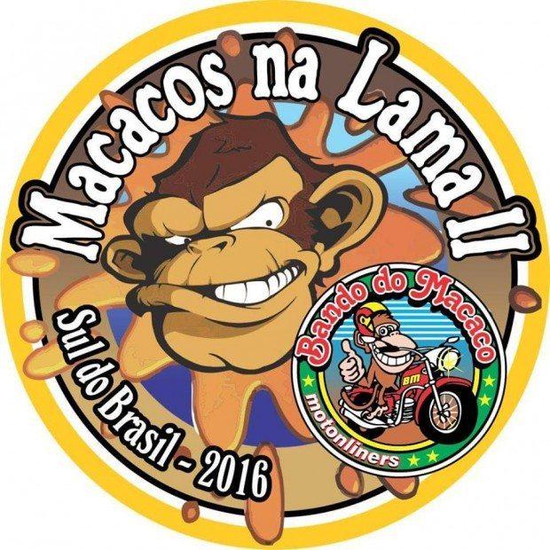 O evento anual do Bando do Macaco tem até logotipo