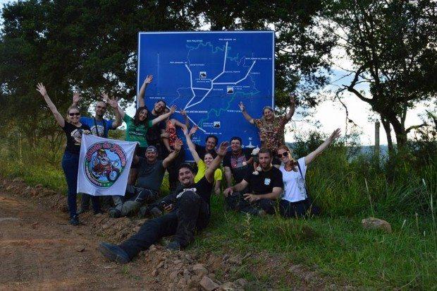 Foto oficial do Bando do Macaco em São José dos Ausentes (SC) - foto: Rock Teneré