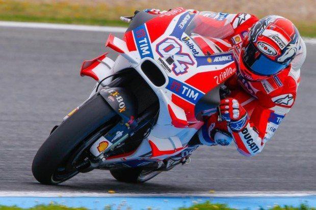 Dovizioso continua como piloto da Ducati por mais dois anos