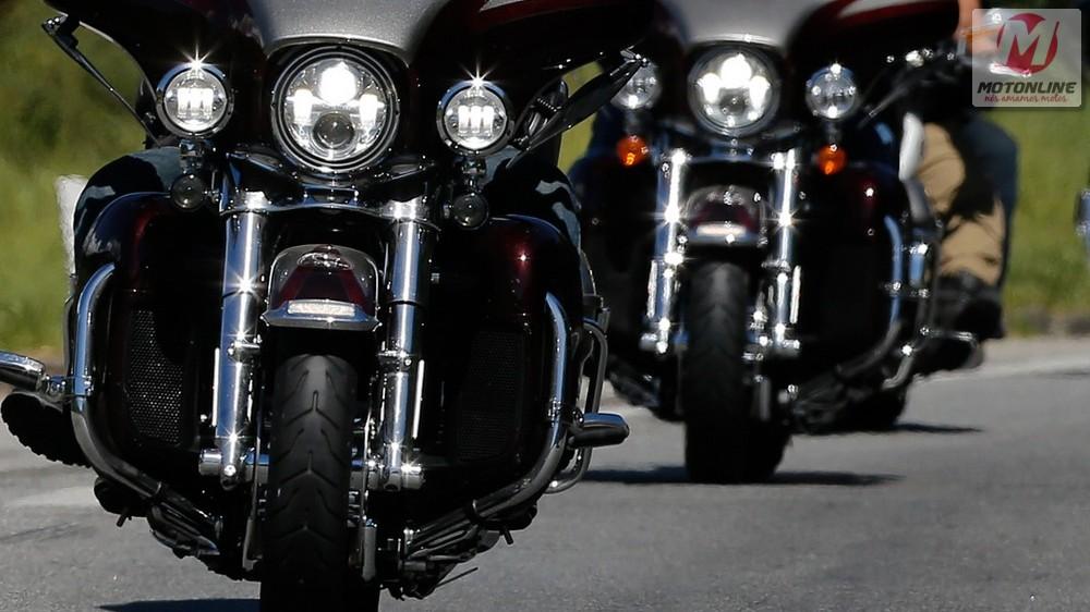 Motos grandes e pequenas, todas Harley-Davidson