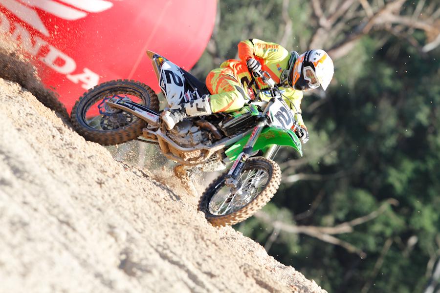 Chumbinho catarinense de motocross