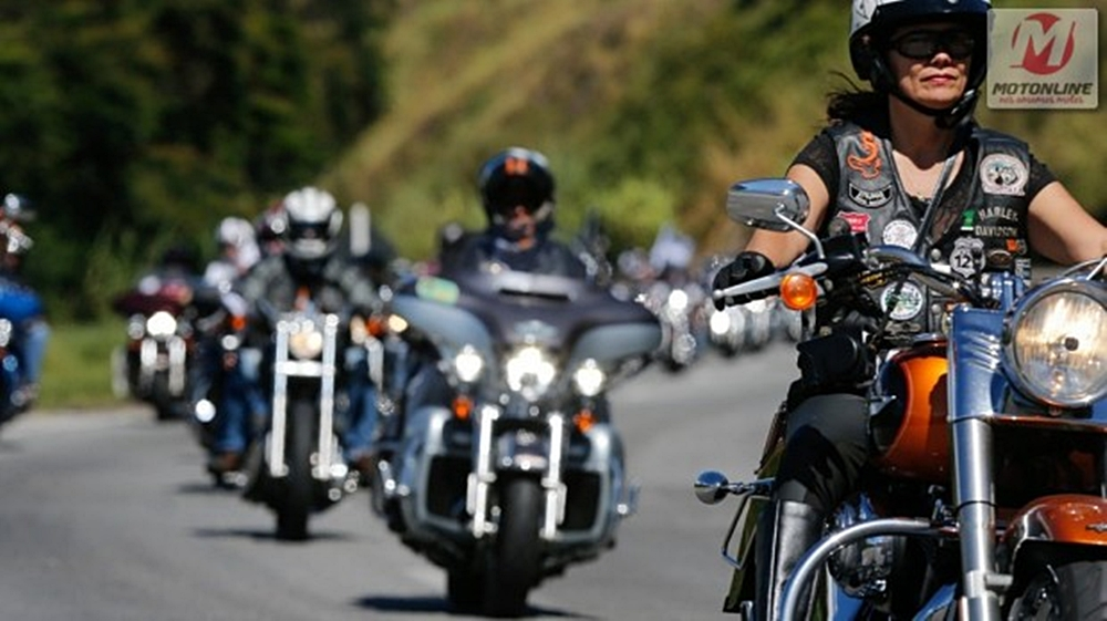 Eventos da Harley, como o National HOG Rally, aproximam a marca de seus clientes e entusiastas