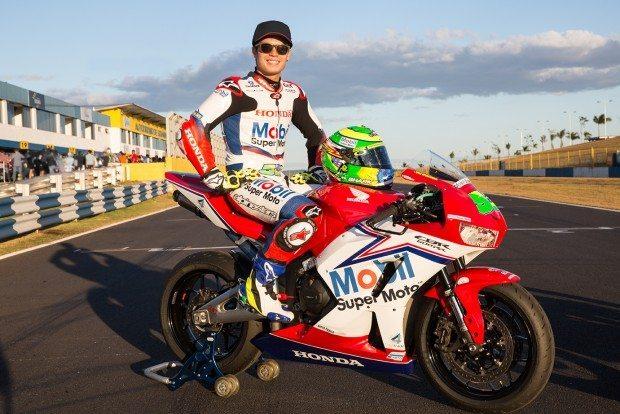 Promessa do motociclismo nacional, Eric carimbou seu passaporte para o SuperBike Brasil