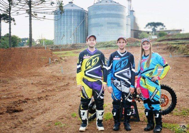 Família Basso quer liderar Gaúcho de Motocross