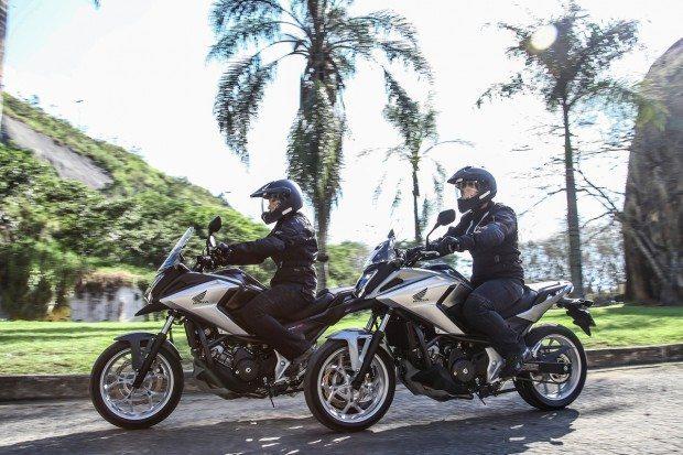 Apesar dos esforços das marcas, que lançaram vários modelos no semestre, como a Honda NC 750X, vendas de moto seguem em queda no Brasil