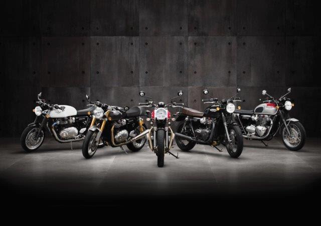 Triumph anúncia venda de novos modelos