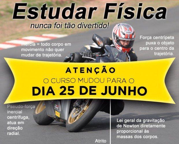 Curso é destinado para motocicletas acima de 250cc