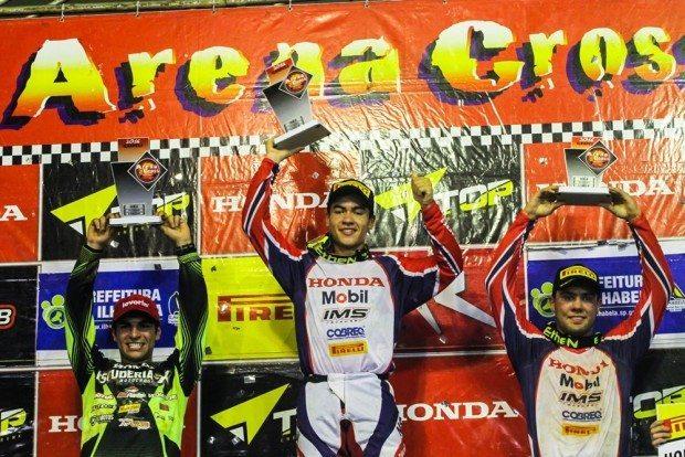 Gustavo Pessoa, da Honda, conquistando o primeiro lugar mais uma vez