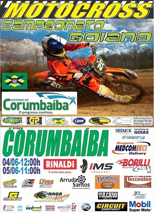 Cartaz 4ª MXGO 16 Corumbaiba final 2