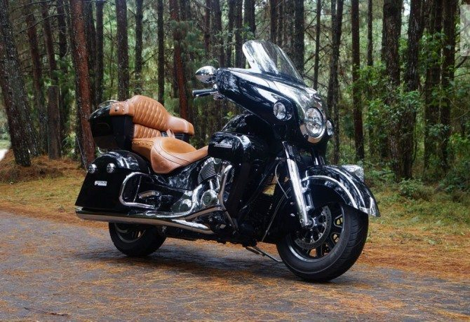 Teste Indian Roadmaster: maestria nas estradas
