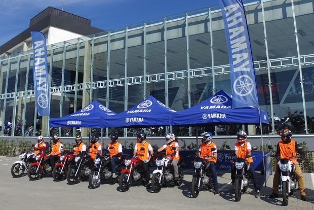Rally da Economia aconteceu em Santa Catarina, na sede da Yamaha Geração. Cada proprietário trouxe sua Factor 150