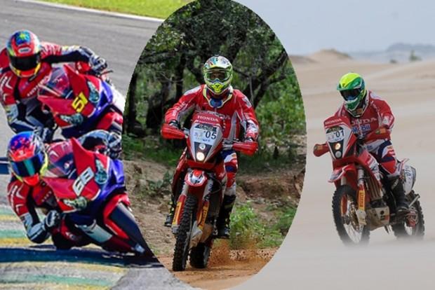 Com seis episódios, o Desafio Honda CrossOver mostra a versatilidade dos pilotos