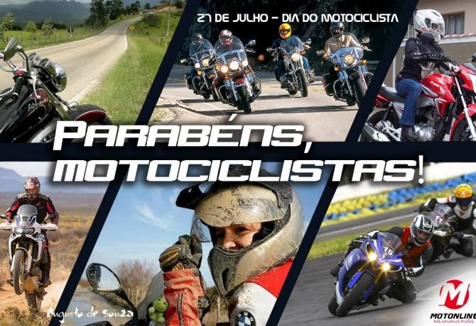 Você tem bons motivos para celebrar o Dia do Motociclista