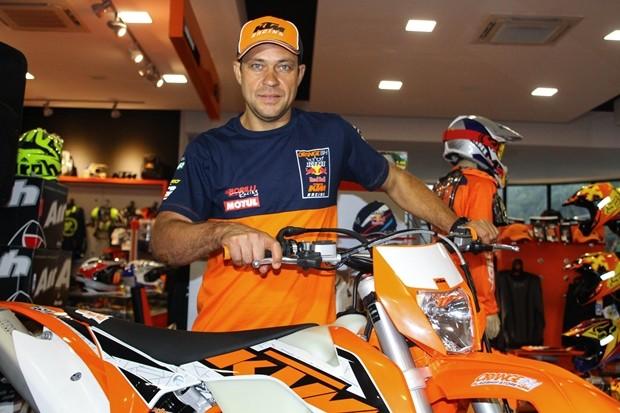 Jomar Grecco é o atual campeão do Enduro da Independência - divulgação