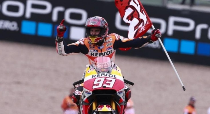 Márquez usa a cabeça e vence o GP da Alemanha