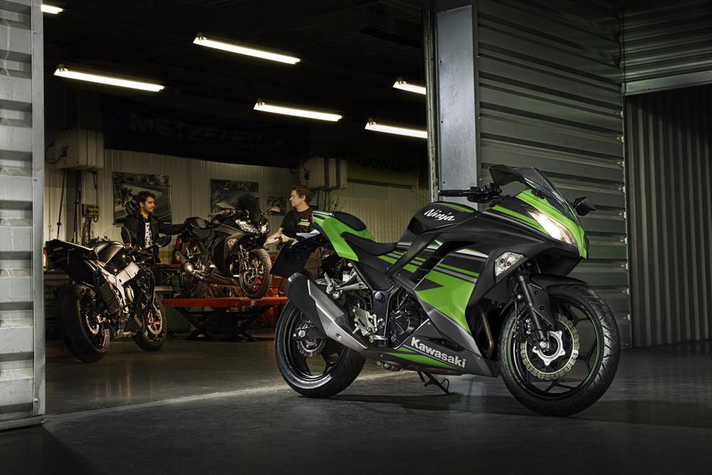 Nova Kawasaki Ninja 300 Já Está à Venda Motonline