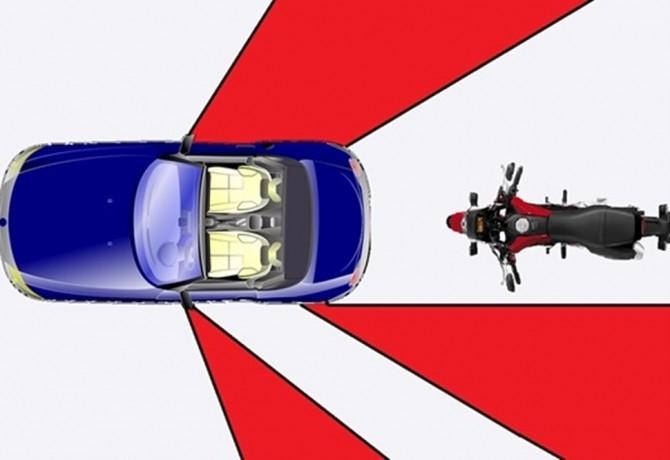 Como evitar os pontos cegos dos automóveis
