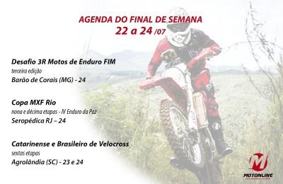 Marque em sua agenda os principais eventos de moto off road que acontecerão pelo Brasil neste final de semana