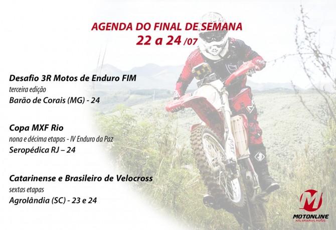 Agenda Motonline: eventos de moto neste final de semana