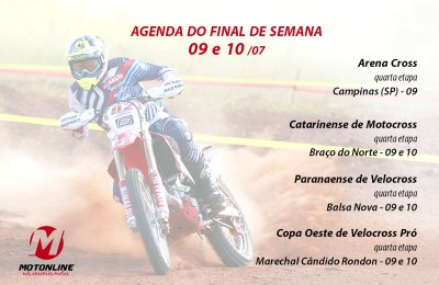 Agenda do final de semana será de eventos off road, incluindo etapa decisiva do Arena Cross