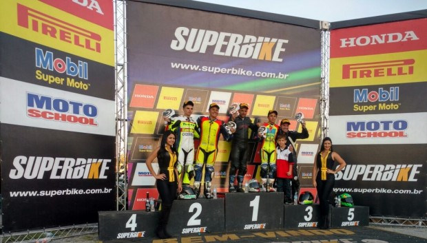 Marciano Santin venceu na R3 Cup, em sua primeira corrida independente